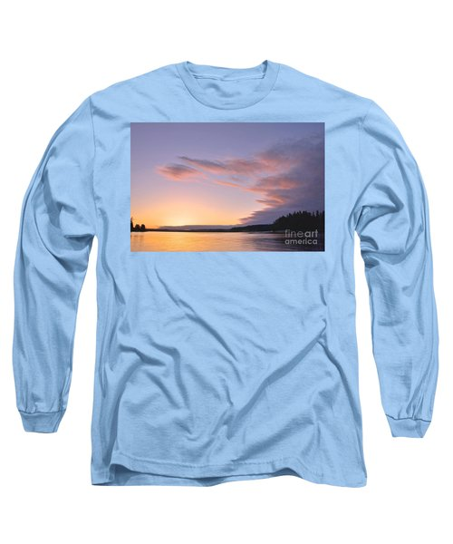 Long Sleeve T-Shirt featuring the photograph On Puget Sound - 2 by Sean Griffin