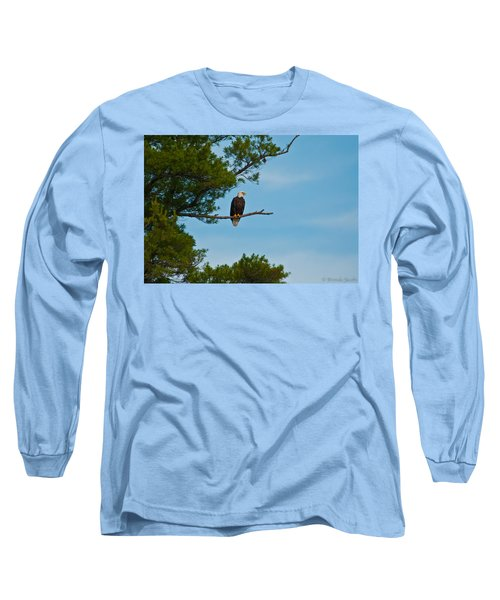 Long Sleeve T-Shirt featuring the photograph Out On A Limb by Brenda Jacobs