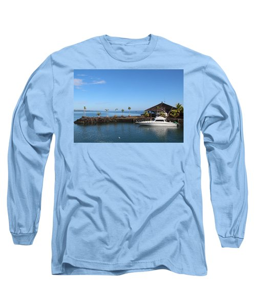 Long Sleeve T-Shirt featuring the photograph Quiet Bay by Sergey Lukashin