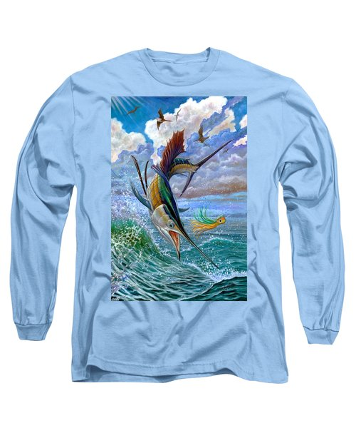 Sailfish And Lure Long Sleeve T-Shirt
