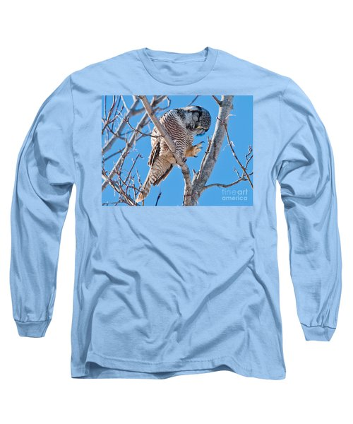 Smiling And Waving Long Sleeve T-Shirt