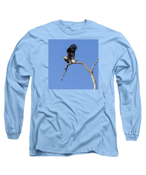 Smooth Landing 4 Long Sleeve T-Shirt by David Lester