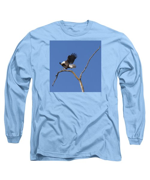 Smooth Landing 5 Long Sleeve T-Shirt by David Lester