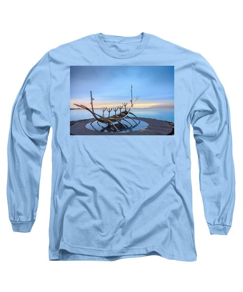 Solfar Sun Voyager Long Sleeve T-Shirt by Alexey Stiop