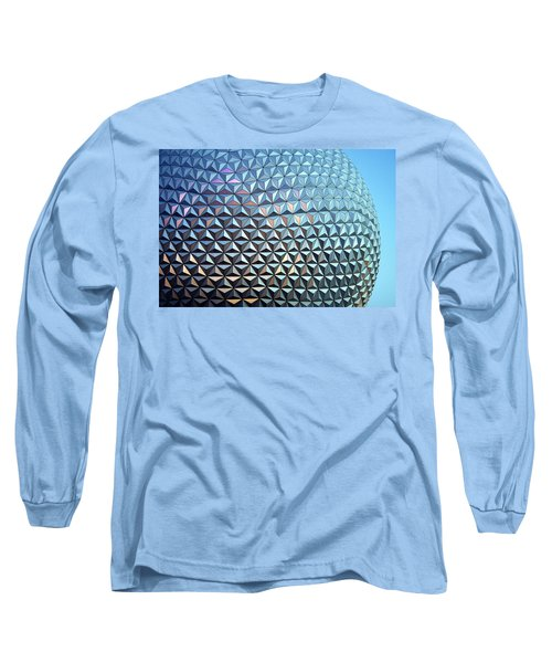 Long Sleeve T-Shirt featuring the photograph Spaceship Earth by Cora Wandel