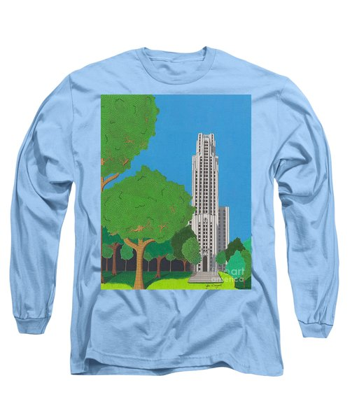 The Cathedral Of Learning Long Sleeve T-Shirt