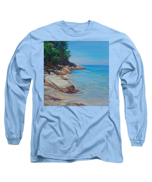 Treasure Beach Long Sleeve T-Shirt