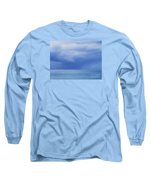 Long Sleeve T-Shirt featuring the photograph Tropical Storm by Roselynne Broussard
