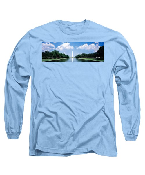 Washington Monument Washington Dc Long Sleeve T-Shirt by Panoramic Images