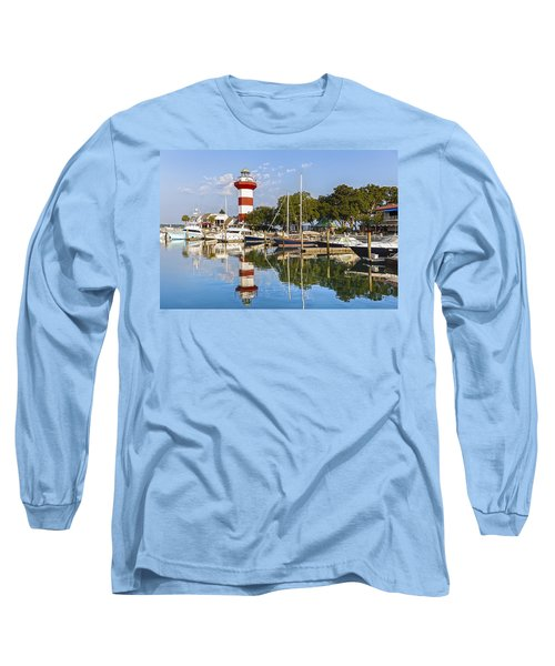Lighthouse On Hilton Head Island Long Sleeve T-Shirt