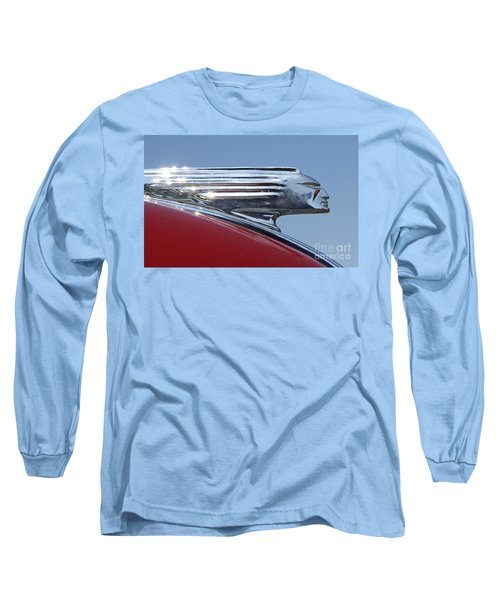 1939 Pontiac Hood Ornament Long Sleeve T-Shirt