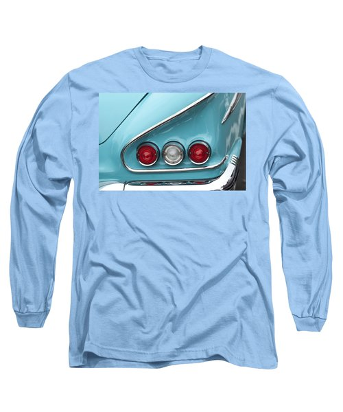 1958 Chevrolet Impala Taillights  Long Sleeve T-Shirt