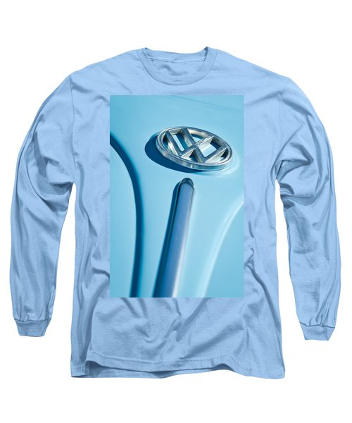 1960 Volkswagen Vw Hood Emblem Long Sleeve T-Shirt