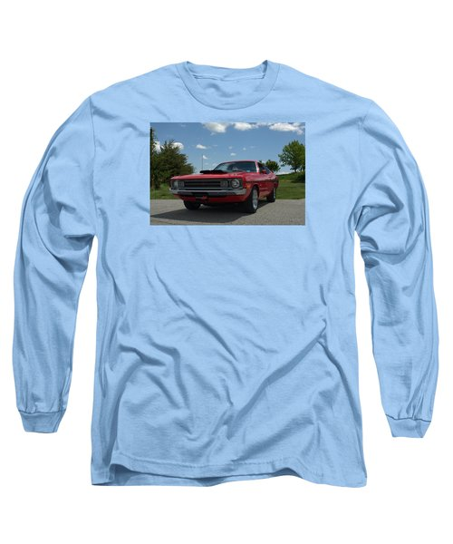 Long Sleeve T-Shirt featuring the photograph 1972 Dodge Demon by Tim McCullough