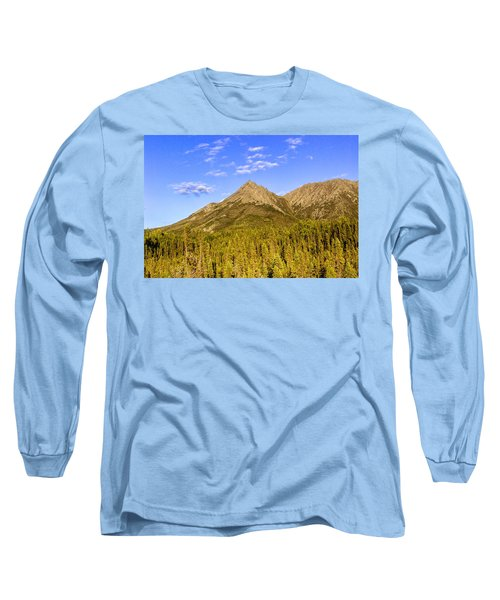 Alaska Mountains Long Sleeve T-Shirt