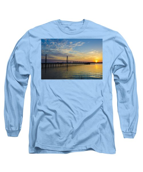 Magical Blue Skies Long Sleeve T-Shirt by Dale Powell