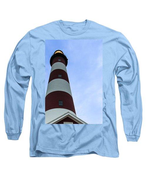 Assateague Lighthouse At Dawn Long Sleeve T-Shirt