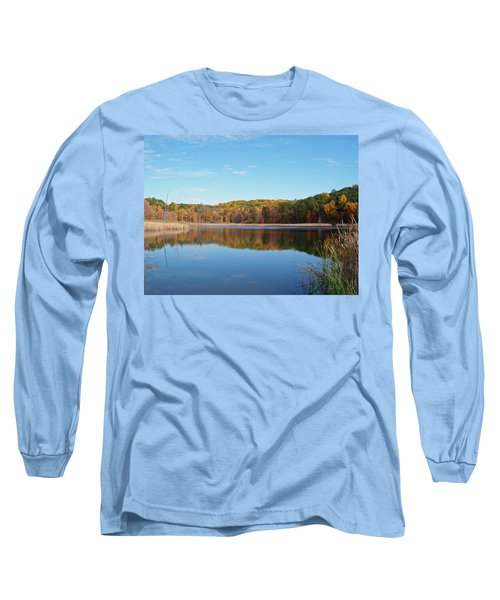 Long Sleeve T-Shirt featuring the photograph Autumn Pond by Aimee L Maher Photography and Art Visit ALMGallerydotcom