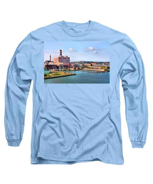 Long Sleeve T-Shirt featuring the photograph Boston Harbor by Kristin Elmquist