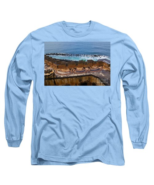 Long Sleeve T-Shirt featuring the photograph Castillo San Felipe Del Morro by Olga Hamilton