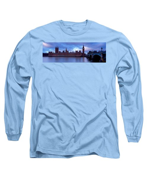 Government Building At The Waterfront Long Sleeve T-Shirt