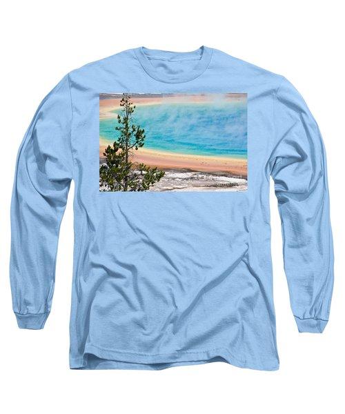 Grand Prismatic Spring Long Sleeve T-Shirt