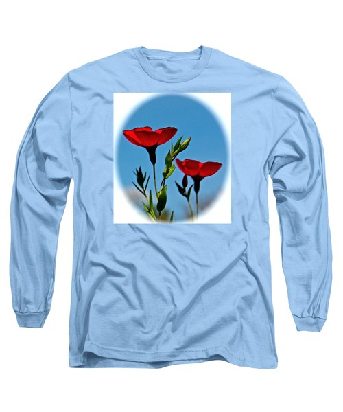 Flower 6 Long Sleeve T-Shirt