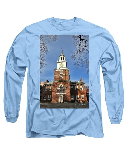 Independence Hall In Philadelphia Long Sleeve T-Shirt