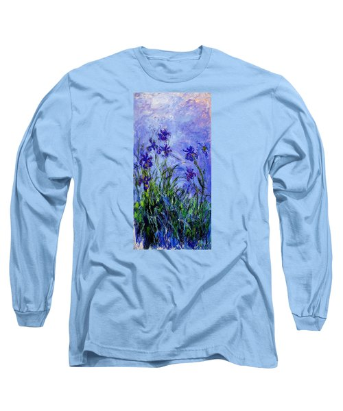 Irises Long Sleeve T-Shirt by Celestial Images