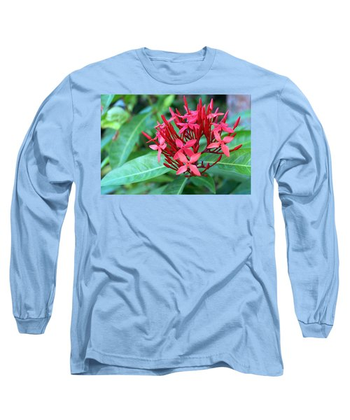 Jamaican Red Long Sleeve T-Shirt