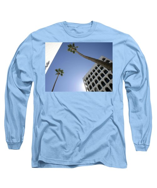 Long Sleeve T-Shirt featuring the photograph Looking Up In Beverly Hills by Cora Wandel