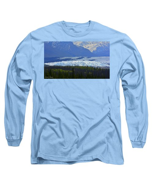Matanuska Glacier Long Sleeve T-Shirt