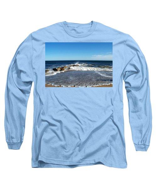 Long Sleeve T-Shirt featuring the photograph Plum Island Landscape by Eunice Miller