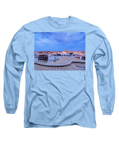 Seville Cityscape Long Sleeve T-Shirt