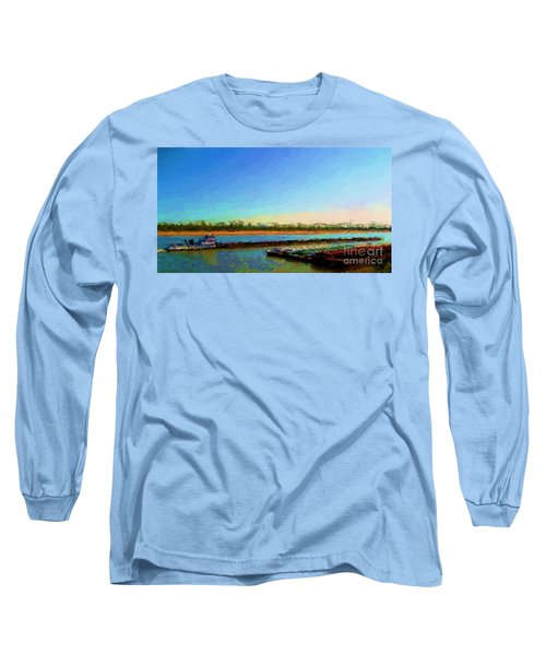 Slow And Steady Long Sleeve T-Shirt by Kelly Awad