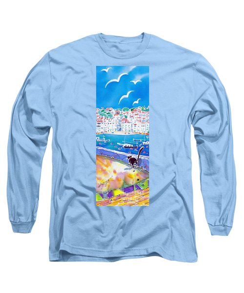 Sunset In Costa Brava Long Sleeve T-Shirt