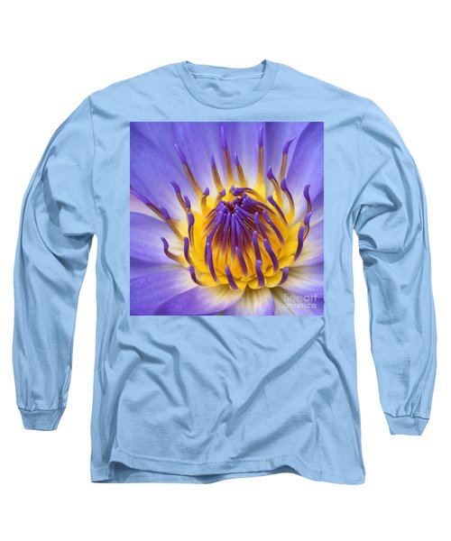 The Lotus Flower Long Sleeve T-Shirt by Sharon Mau