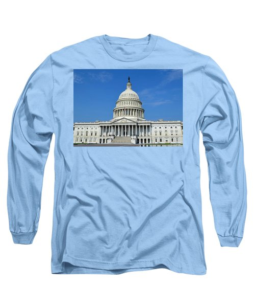 Us Capitol Building Long Sleeve T-Shirt