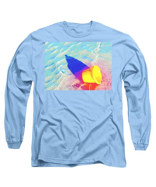Yellow Pail Long Sleeve T-Shirt by Valerie Reeves