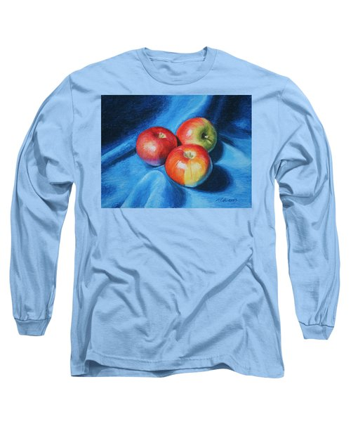 3 Apples Long Sleeve T-Shirt