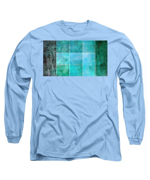3 By 3 Ocean Long Sleeve T-Shirt by Angelina Vick