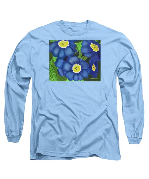 Prim And Proper Long Sleeve T-Shirt by Donna  Manaraze