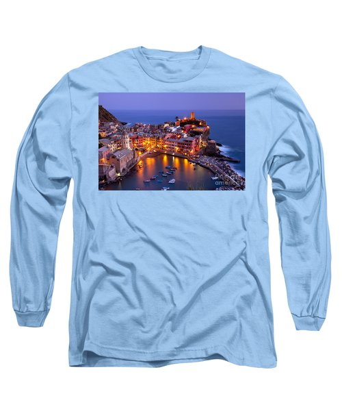 Cinque Terre Long Sleeve T-Shirt by Brian Jannsen