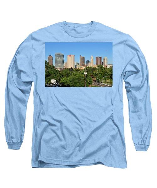 Columbus Ohio Skyline Photo Long Sleeve T-Shirt