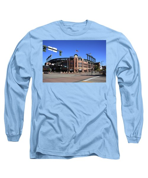 Coors Field - Colorado Rockies Long Sleeve T-Shirt