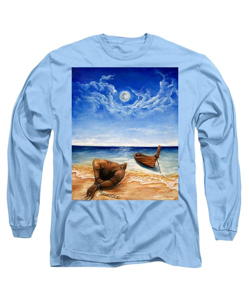 Long Sleeve T-Shirt featuring the painting Home by Emery Franklin