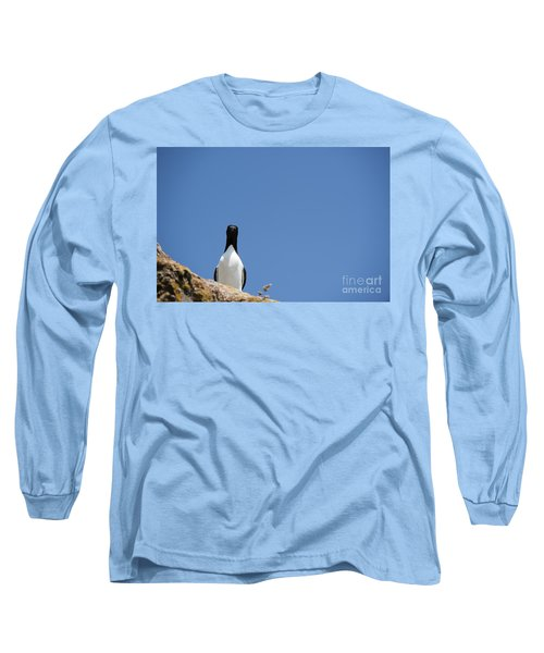 A Curious Bird Long Sleeve T-Shirt