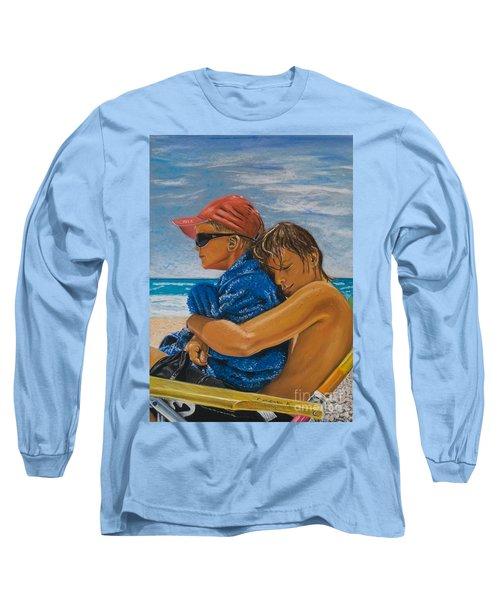 A Day On The Beach Long Sleeve T-Shirt