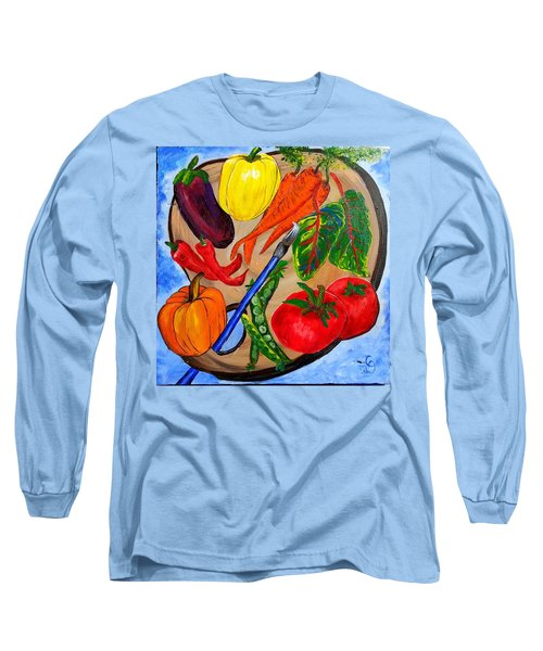 A Gardeners Palette Long Sleeve T-Shirt