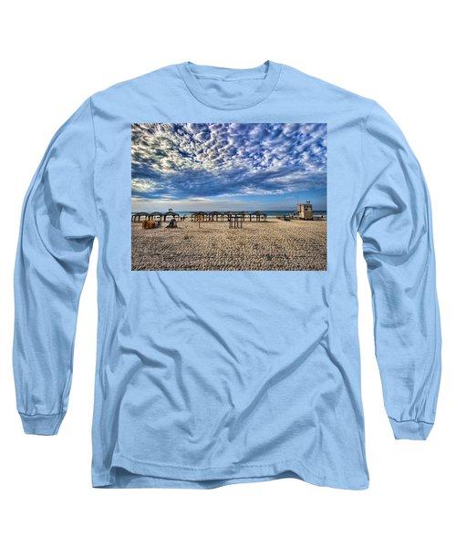 a good morning from Jerusalem beach  Long Sleeve T-Shirt